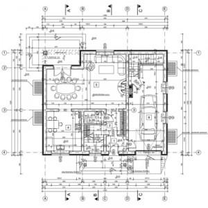 Tyczenie obiektów budowlanych, tyczenie budynku
